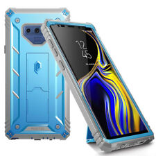 For Samsung Galaxy Note 9 Case Poetic Full Cover with Screen Protector Blue