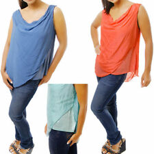 Tunic Hand-wash Only Plus Size Sleeve Tops & Blouses for Women