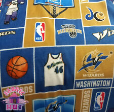 NBA Washington Wizards DC Block Fleece Fabric