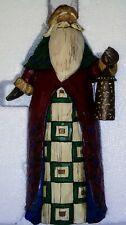 2002 Jim Shore Heartwood Creek Santa with Lantern 11.5� Tall Figurine Retired