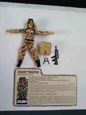 Dusty 1985 G.I. Joe RAH Action Figure with Accessories File Card