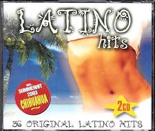 COFFRET 2 CD 36T LATINO HITS ZOUK MACHINE/LOU BEGA/LOS DEL RIO/MEDEIROS/LOONA