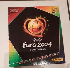 Panini EM 2004 Sammelalbum EURO 04 KOMPLETT Album mit allen Sticker Stickeralbum