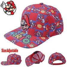 Super Mario Bros Cap Hat Sunhat Trucker Baseball Curved Hip-Hop Cool Otaku