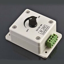Durable 12V 8A Manual Dimmer Switch Brightness Controller for LED Strip Light XC