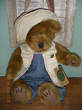 """Boyds Bears Plush 1999 ~14"""" Hemingway K. Grizzman~ The Archive Collection"""