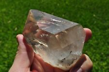 Big Gemmy Water Clear Terminated Quartz Crystal Point from China. 402g