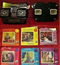 Sawyer's View-Master Lot snow white, Sambo, Dale Evans & More 336 images READ