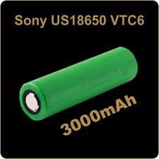 Sony Murata VTC6 KONION US 18650 senza pin Batteria ORIGINALE SIGARETTA