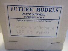 FUTURE MODELS 1/43 FURGONE OFFICINA E FERRARI F00 F2 SUPER KIT
