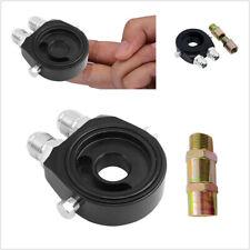M20X1.5 Oil Filter Cooler Aluminum Sandwich Locator Plate Adapter 1/8Npt 10An