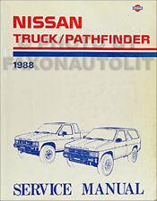 1988 Nissan Truck and Pathfinder Shop Manual Original Repair Service Book OEM