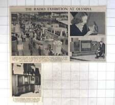 1947 Radio Exhibition At Olympia, Hmv Remote Control , Alba