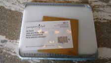 Pampered Chef Mint Condition Bar Board, white, 8 x 6 1/2, FREE SHIPPING! #1001