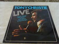 Tony Christie Live Original Album LP Record Vinyl