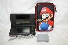 Nintendo DSi XL Launch Edition Bronze W/Charger And Super Mario Case ~98S