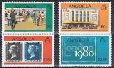 Anguilla postfris 1979 MNH 369-372 - Stamp Exhibition London 1980 (15)