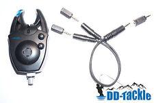 Klinke Adapter Set f. LED Alu Snag Bar Swinger Hänger Pendel Bissanzeiger Boilie