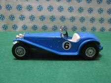 Vintage  -  RILEY  MPH  1934  Blu           - Matchbox N° Y-3