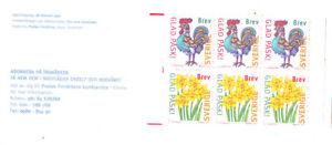 SWEDEN 1997   FLOWERS  SET  BOOKLET  MNH VF
