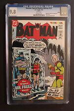 BATMAN #121 ORIGIN 1st MISTER FREEZE 1997 Toys R Us Replica Reprint CGC NMMT 9.8