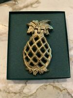 Virginia Metalcrafters Pineapple Door Knocker