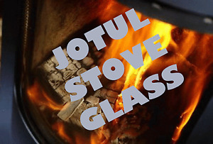 JOTUL REPLACEMENT STOVE GLASS F100, No8 mk1, F400 HIGH DEFINITION - ALL MODELS