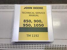 850  John Deere Technical Service Shop Repair Manual 818 pages!