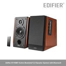 Edifier R1700BT Active Bookshelf 2.0 Speaker System Bluetooth 66w MDF Wood Maple