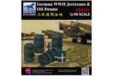Bronco FB4020 1/48 German WWII Jerrycans & Oil Drums