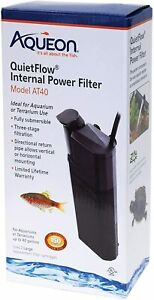 Aqueon Quiet Flow Internal Power Filter AT40