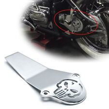 Chrome Skull Aluminum Drive Shaft Cover For 1998-2009 Yamaha V-Star 1100 Classic