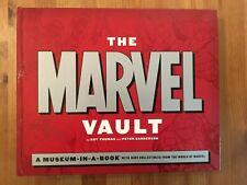 Marvel Vault Museum in a Book 2007 Fun Collectible for FOOM, True Believer!