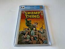 SWAMP THING 5 CGC 9.4 ABILITY TO REGENERATE BERNIE WRIGHTSON DC COMICS 1973