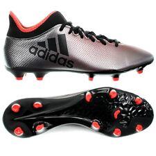 Adidas X 17.3 FG grau schwarz rot Herren Fußballschuhe Nocken Techfit NEU