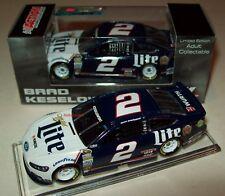 Brad Keselowski 2015 Miller Lite Retro Fan Vote #2 Ford Fusion 1/64 NASCAR