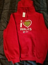 Wales UEFA 2016 Youth Large Sweatshirt - Red