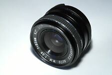 M42 mount Beroflex Auto W.W. 62º F1:2.8 / 35mm lens objective + 55mm UV filter