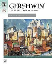 George Gershwin - Three Preludes Piano Solo Book & CD *NEW* Alfred Masterwork