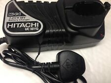Hitachi uc18yg 7.2-18v Volts Ni-Cad Only Battery Charger not for Lithium battery