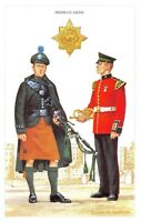 Postcard The British Army Series No.24 Irish Guards by Geoff White