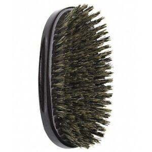 "Diane 100% Boar 9 Row Military Palm Brush 5"" Medium Bristles #D8114"