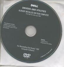 DELL DRIVERS AND UTILITIES - P7N P150H - REV. A00 - 08/2008 - STUDIO 1537 - DVD
