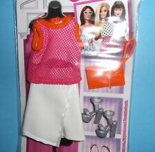SPORTY CHIC*SHOES PLUS*FASHIONISTA COMPLETE LOOK*BARBIE*RETIRED*