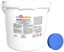 Chlortabletten Chlor Multitabs BLUE 5 in 1 200g - 5 kg Eimer > 90% Aktivchlor