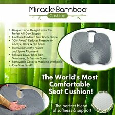 NEW Miracle Bamboo® Cushion™ - The World's Most Comfortable Seat Cushion