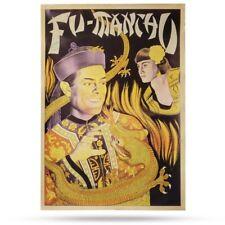 Fu Manchu - Vintage Style Magic Magician Poster 29 x 20 New