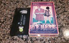 CHIQUITA...NO TE LA ACABAS RARE VHS TAPE! 1989 SPANISH MEXI SEX COMEDY