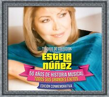 Estela Nunez 50 Anos de Historia Musical Tesoros Coleccion CD NEW NOW SHIPPING