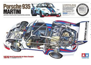 Porsche 935 Martini - 1:12 W/Photo Etched Parts Big Scale Series 57 by Tamiya